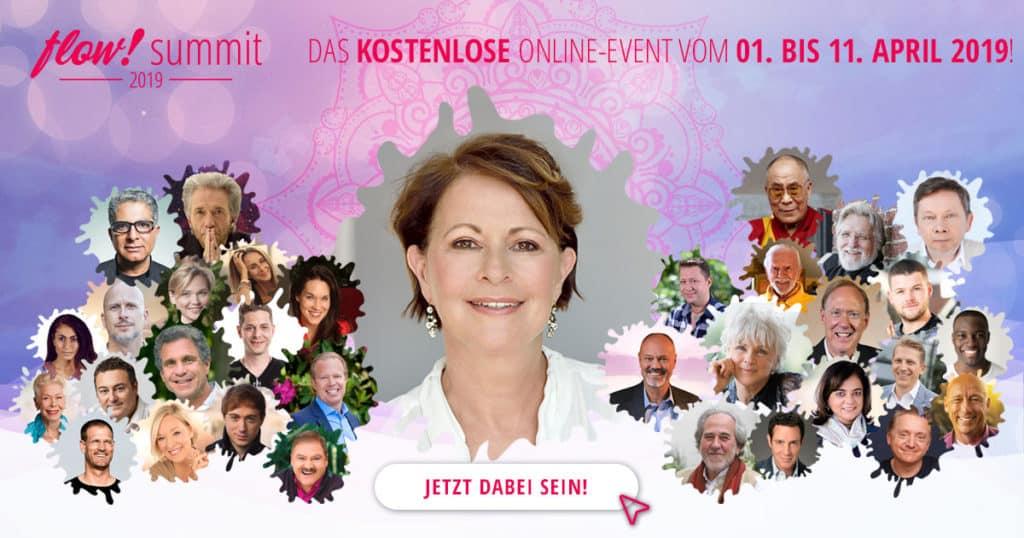 Stefanie Stahl auf dem kostenlosen Online-Kongress flow! Summit 2019