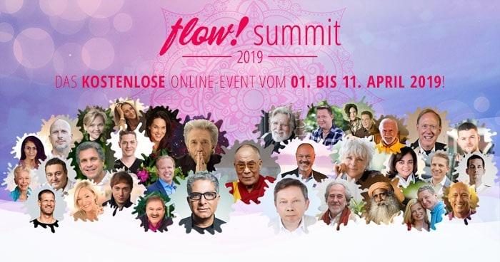 Kostenloser Online-Kongress flow! Summit 2019