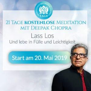 Deepak Chopra 21-Tage-Meditation kostenlos