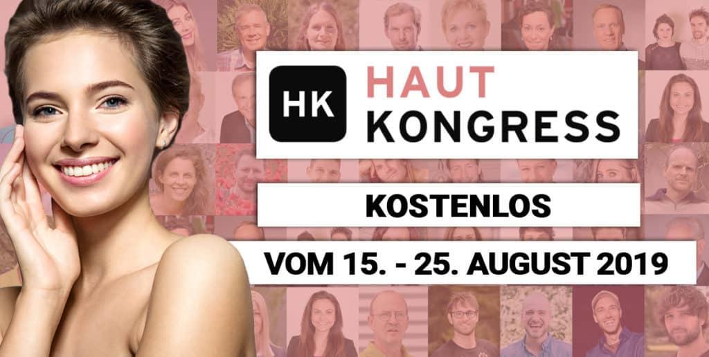 Hautgesundheit auf dem Hautkongress 2019 mit Uwe Karstädt, Dr. Karl Probst, Dr. med. Raimund von Helden