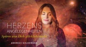 """Andreas Goldemanns Online-Kurs """"Herzensangelegenheiten"""""""