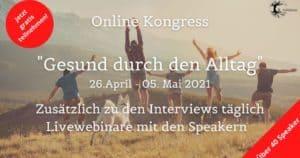 Gesund durch den Alltag Online-Kongress 2021